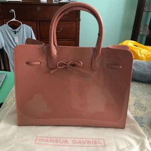 Mansur Gavriel Blush Pink Sun Bag NWT LARGE